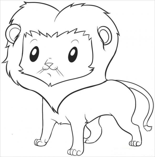 Sư tử con đáng yêu