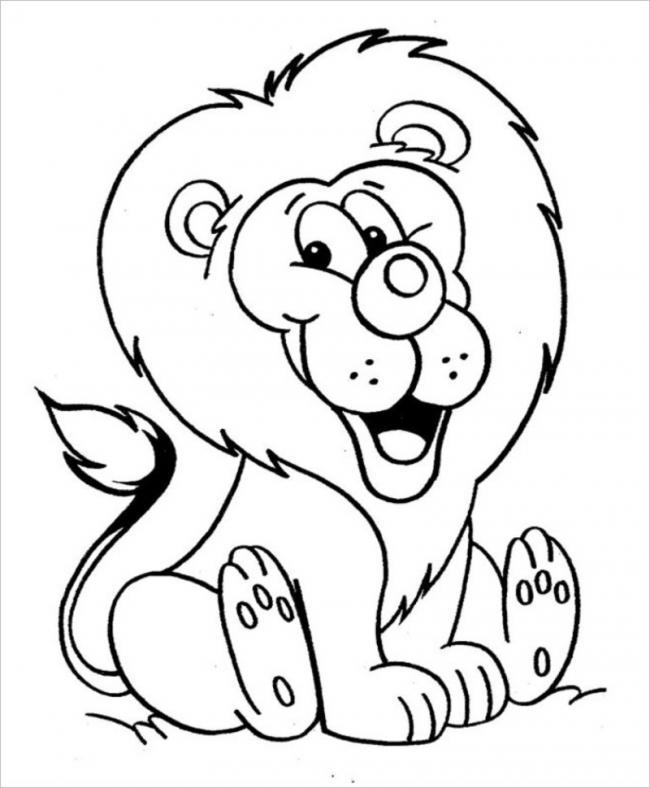 Sư tử cười vui