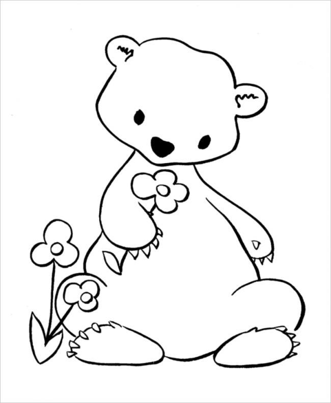 hình ảnh gấu con