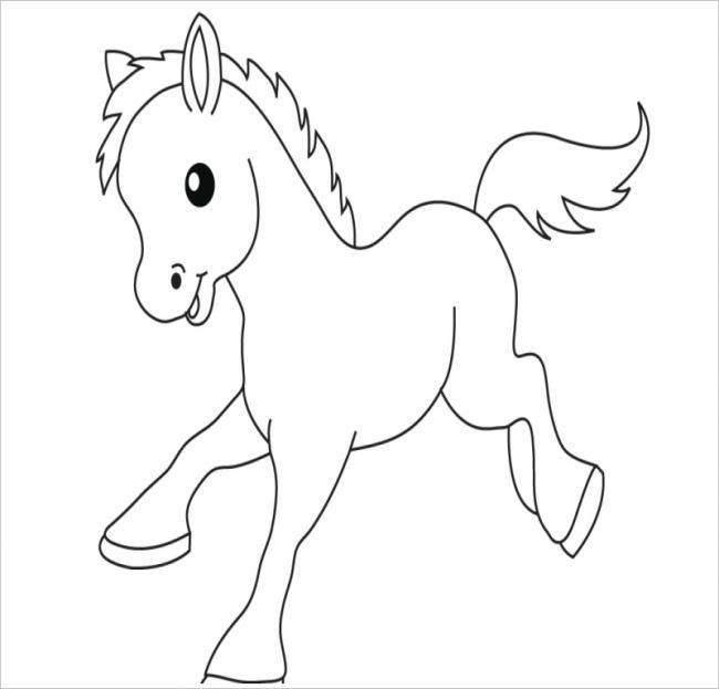 Ngựa con tung tăng chạy nhảy