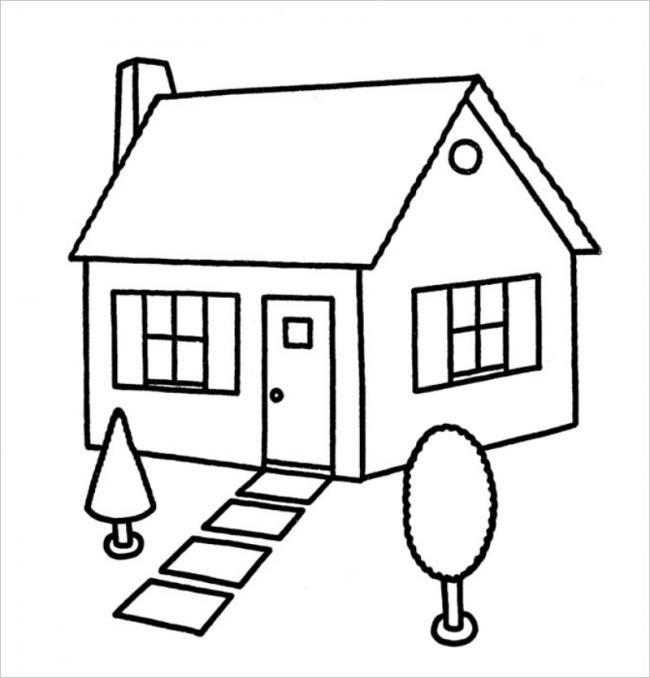 hình ảnh ngôi nhà nhỏ