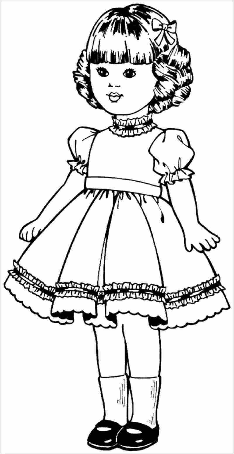 hình ảnh búp bê diện váy xòe