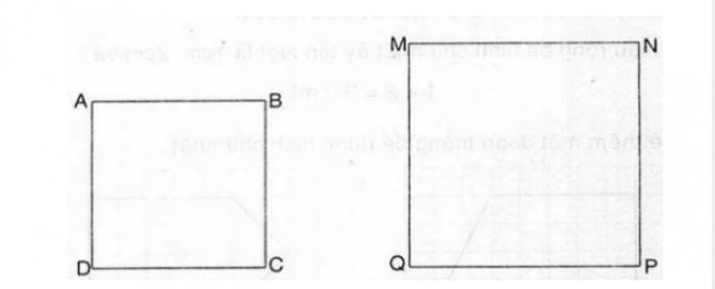 Giải bài toán hình vuông trang 85 sách giáo khoa lớp 3 bài2