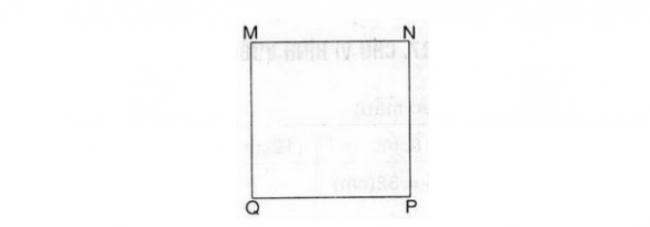 Giải bài toan chu vi hình vuông trang 88 sách giáo khoa bài 4