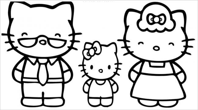 Gia đình nhà mèoKitty