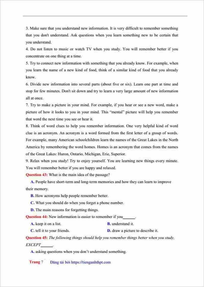 đề thi thử tiếng anh THPT Phan Đăng Lưu lần 1 (6)