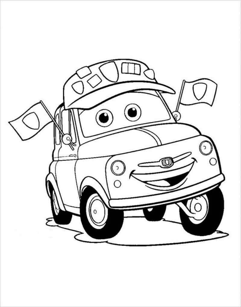 Chiếc ô tô ngộ nghĩnh cho bé