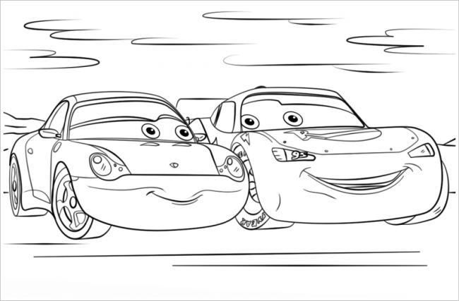 hình ảnh hai chiếc ô tô