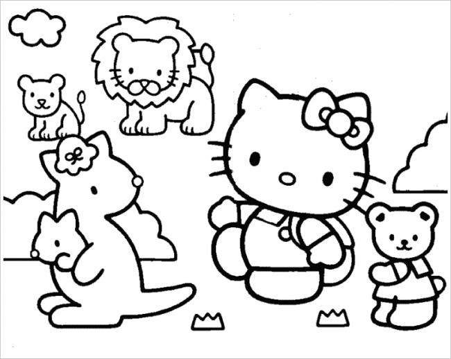 hình ảnh Hello Kitty và các bạn