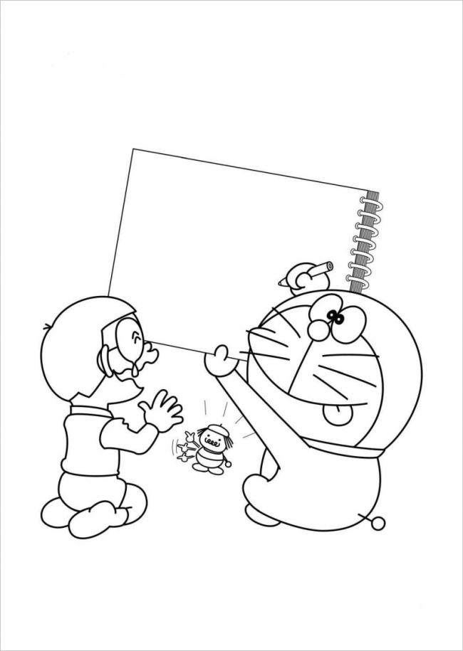 hình ảnh Nobita khóc nhè