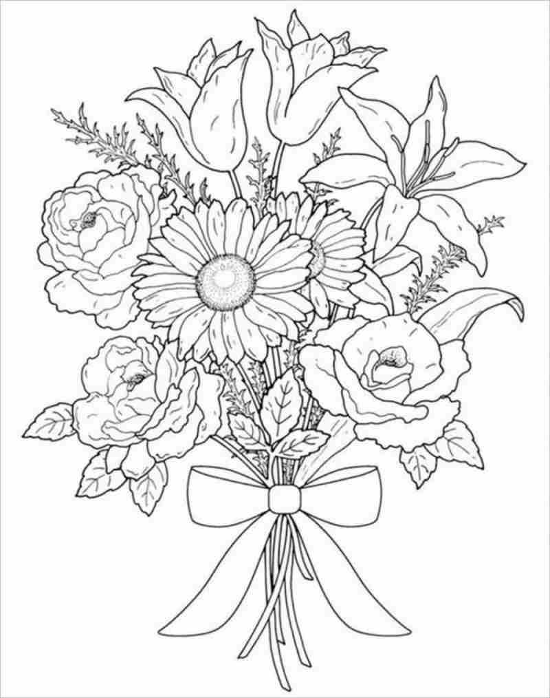 hình ảnh bó hoa đẹp