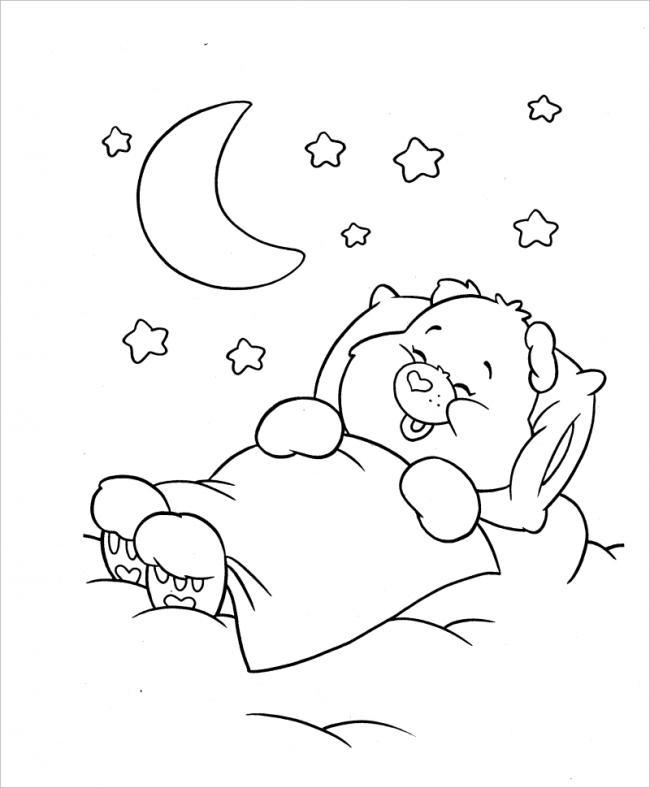hình ảnh gấu ngủ say