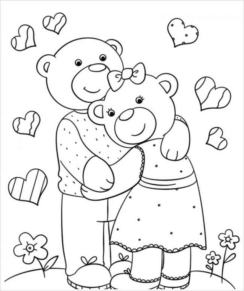 hình ảnh gấu bố và gấu mẹ