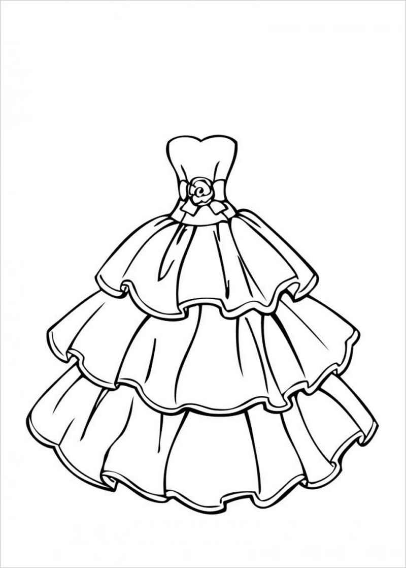 Chiếc váy công chúa 3 tầng