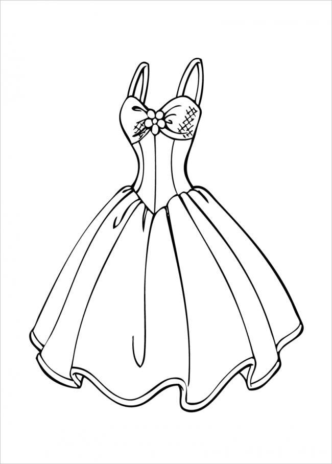 váy công chúa dài