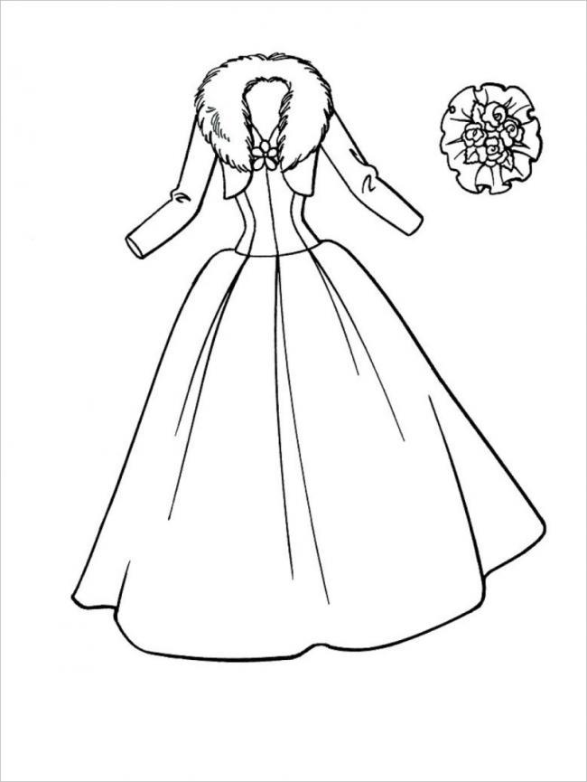 hình ảnh chiếc váy mùa đông