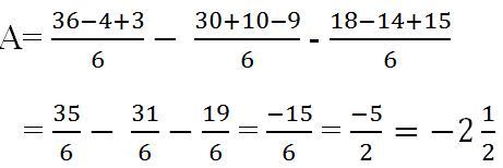 Giải bài tập toán lớp 7: Cộng, trừ số hữu tỷ trang 10 sách giáo khoa bài 10