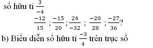 Giải bài toán tập hợp Q các số hữu tỷ trang 7 sách giáo khoa Toán lớp 7 bài 2