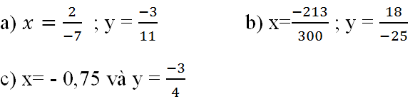 Giải bài toán tập hợp Q các số hữu tỷ trang 7 sách giáo khoa Toán lớp 7 bài 3