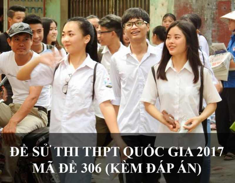 học sinh 12 thi môn sử THPT quốc gia năm 2017