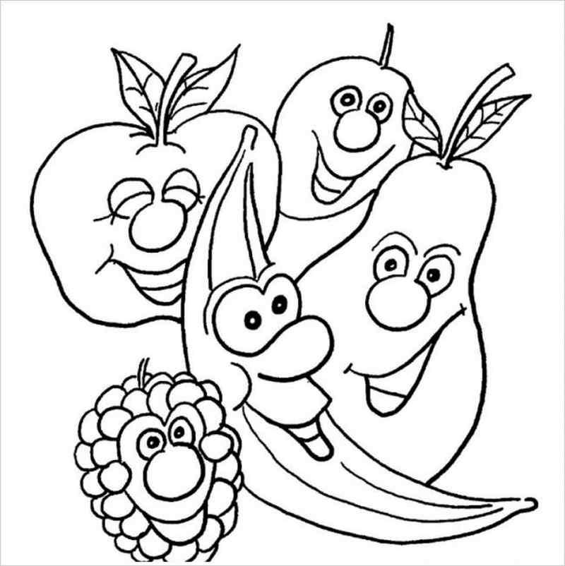 hình 5 loại quả