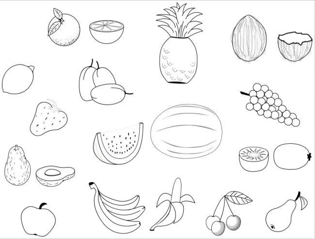 hình ảnh nhiều loại quả