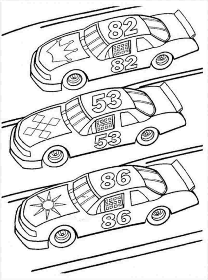 3 chiếc xe đua