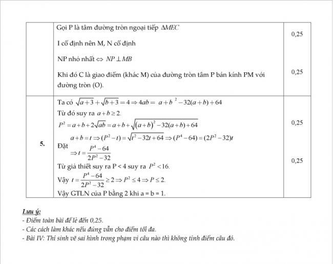 hướng dẫn giải chi tiếtĐề thi thử môn toán vào lớp 10 năm 2018 - trung tâm BDVH Edufly
