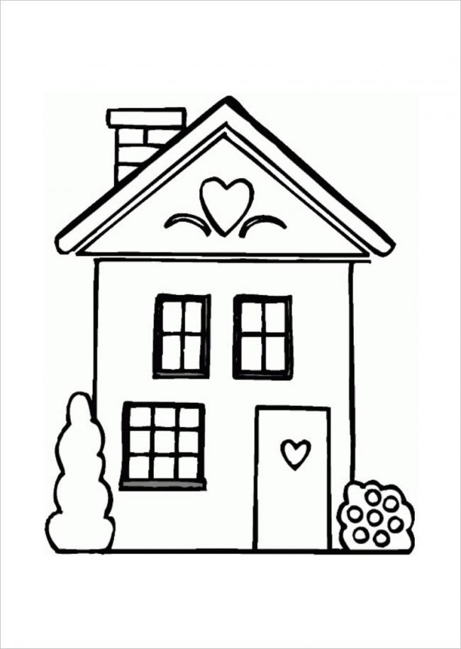 Ngôi nhà với những ô cửa sổ nhỏ dễ thương