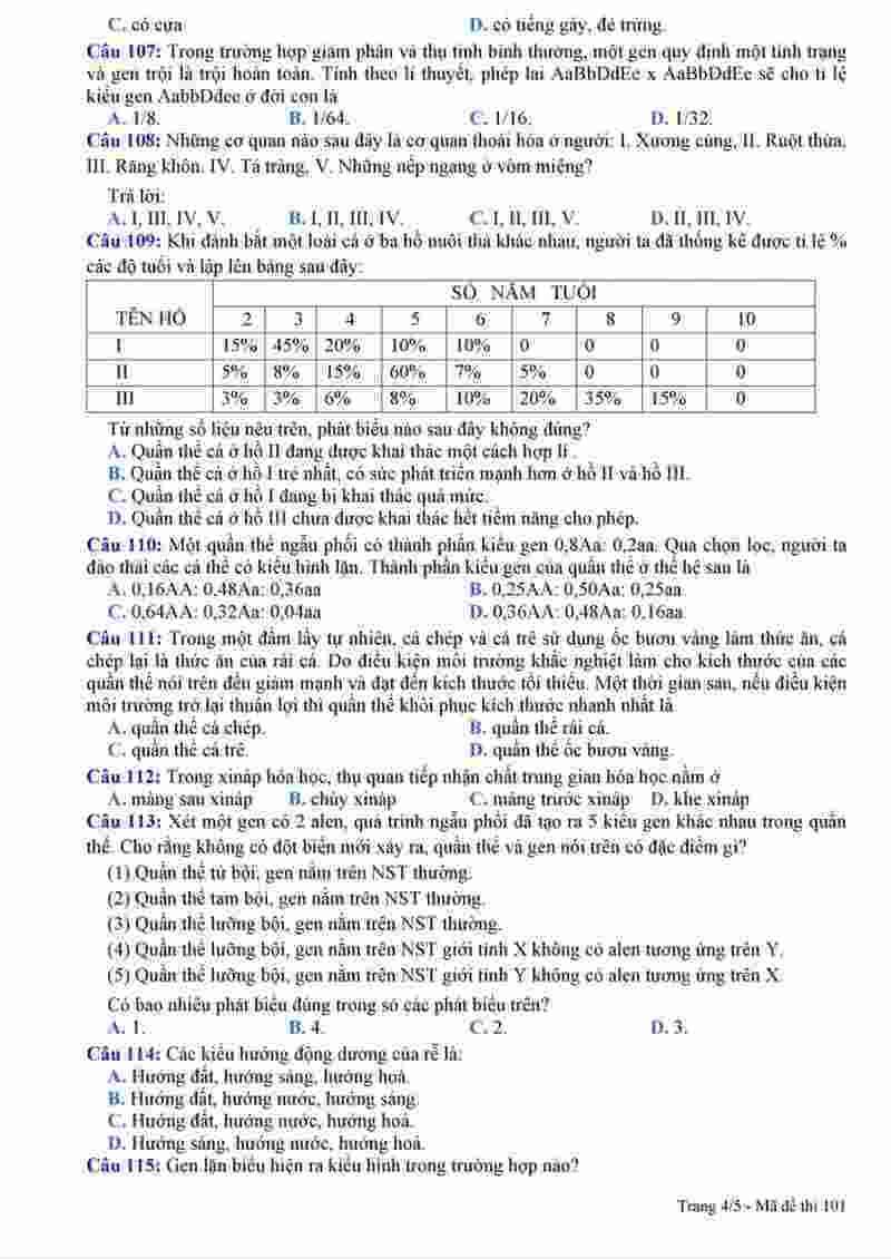 đề sinh thi thử THPT Nguyễn Viết Xuân 2018 (4)