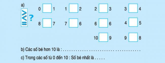 bài 4 trang 39 sách giáo khoa lớp 1