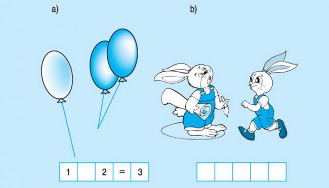 bài 5 trang 46 sách giáo khoa lớp 1