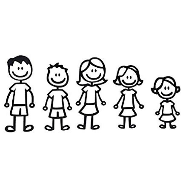 Ảnh gia đình 5 người hạnh phúc