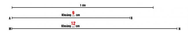 Đáp án bài 3 trang 7 sách giáo khoa lớp 2
