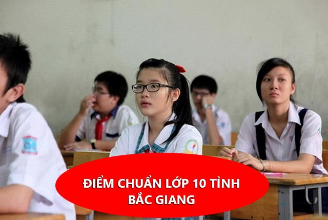 Điểm chuẩn lớp 10 tỉnh Bắc Giang