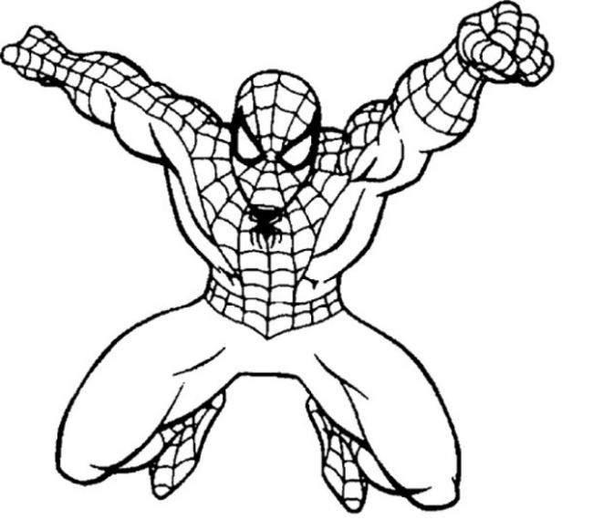 Người nhện đang bay