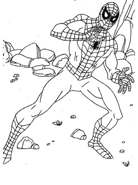 Người nhện màu tím