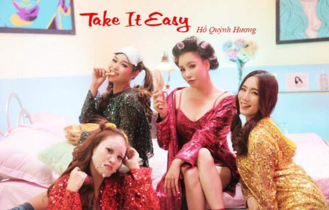 Lời bài hát Take It Easy - Hồ Quỳnh Hương