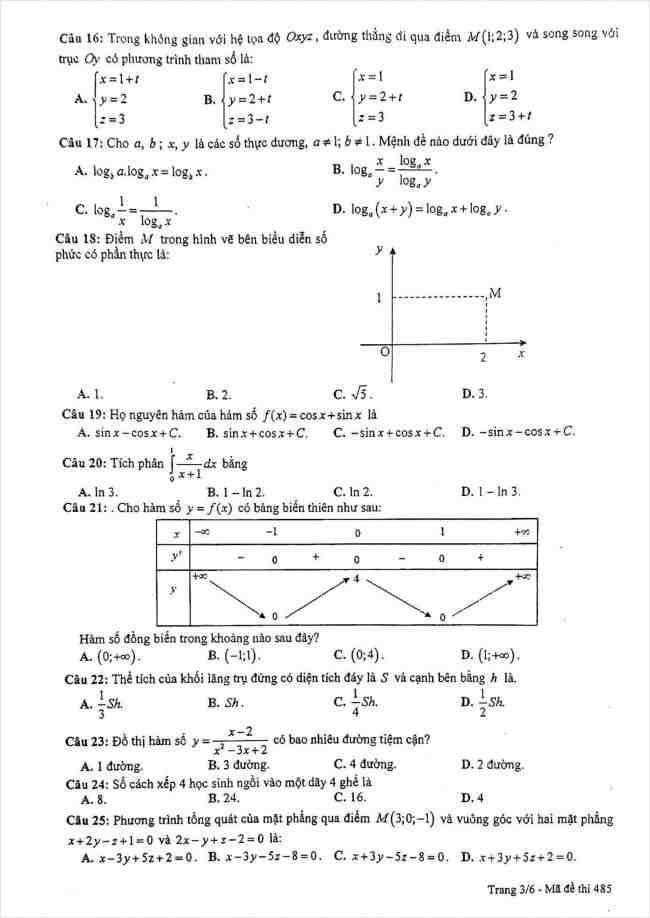 đề toán thi thử THPT Lê Quý Đôn Hà Nội năm 2018 (3)