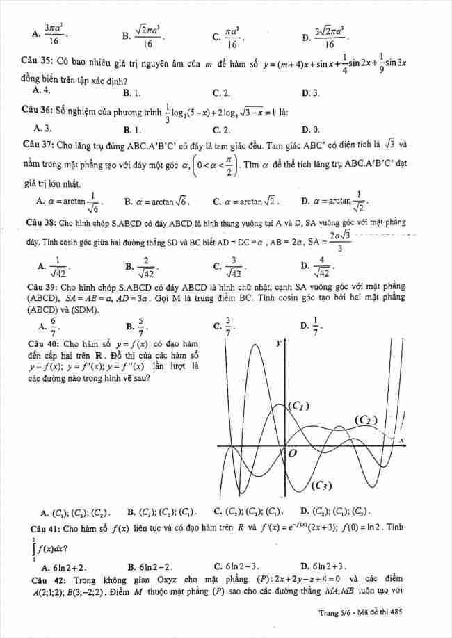 đề toán thi thử THPT Lê Quý Đôn Hà Nội năm 2018 (5)