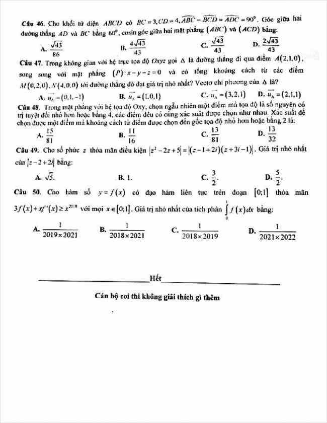 đề toán thi thử THPT tỉnh Cao Bằng năm 2018 (6)