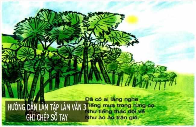 Hướng dẫn giải bài tập trang 126 Tiếng Việt 3 Tập đọc: Mặt trời xanh của tôi