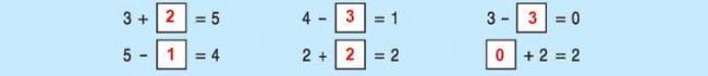 Đáp án bài 3 trang 64 sách giáo khoa toán lớp 1