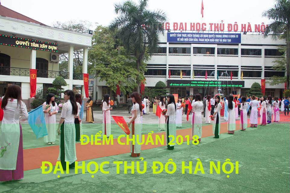 Điểm chuẩn trường Đại học Thủ đô Hà Nội 2020