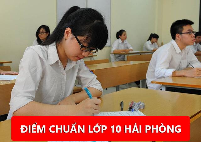 Điểm chuẩn lớp 10 tại Hải Phòng năm học 2019/2020