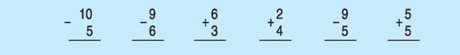 Câu a bài 2 trang 91 SGK toán lớp 1