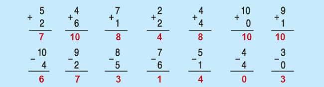 Đáp án bài 3 trang 89 SGK toán lớp 1