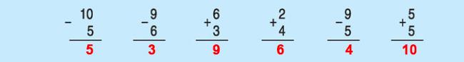 Đáp án câu a bài 2 trang 91 SGK toán lớp 1