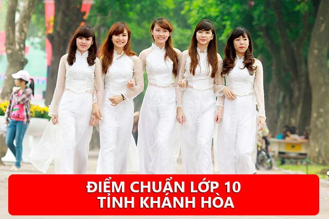 Điểm chuẩn lớp 10 Khánh Hòa