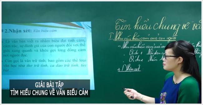 soạn văn tìm hiểu về văn biểu cảm ngữ văn lớp 7